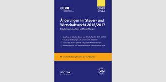 Änderungen im Steuer- und Wirtschaftsrecht 2016/2017
