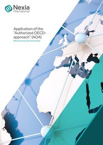 Application of the Authorized OECD-approach (AOA) - Nexia Survey Questionnaire