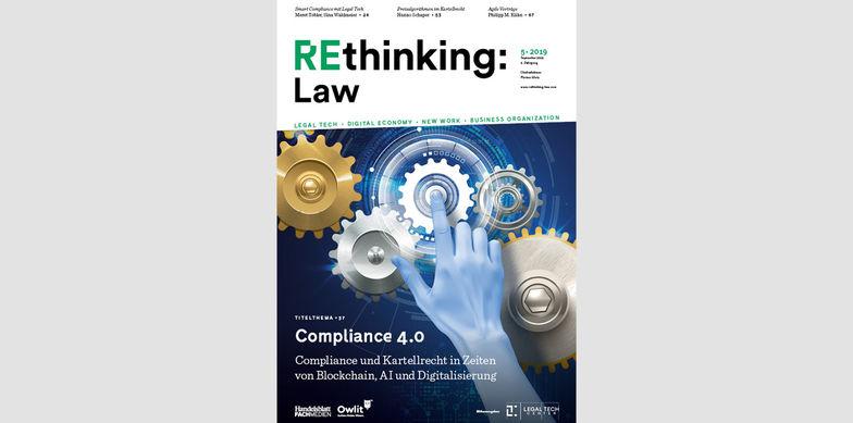 Beitrag Agile Verträge – Abnahme und Vergütung effektiv gestalten von Philipp M. Kühn in REthinking:Law