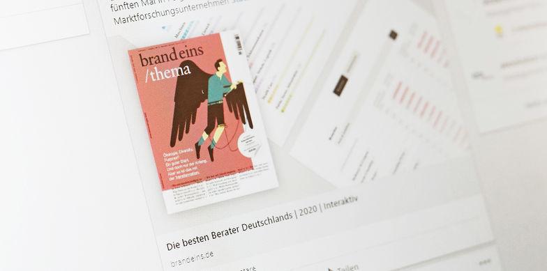 Best consultants 2020: brand eins confirms excellent work by Ebner Stolz