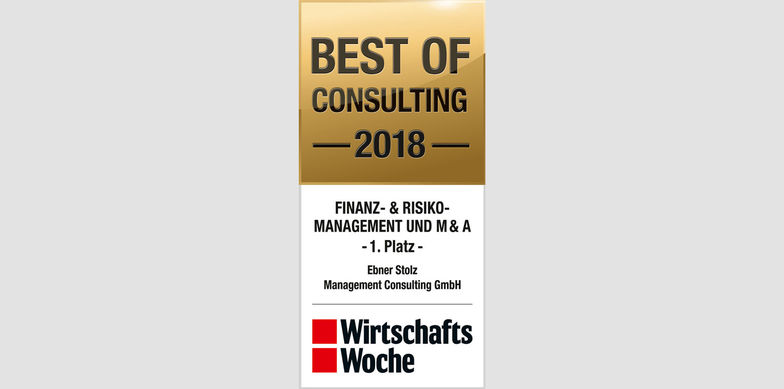 Best of Consulting 2018: Ebner Stolz bester MA-Berater
