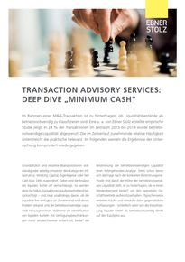 Deep Dive Minimum Cash