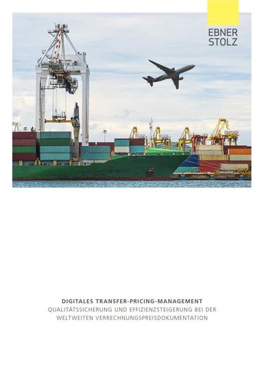 Digitales Transfer-Pricing-Management