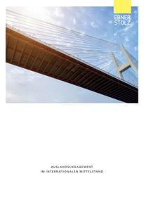 Ebner Stolz Broschüre Auslandsengagement im internationalen Mittelstand