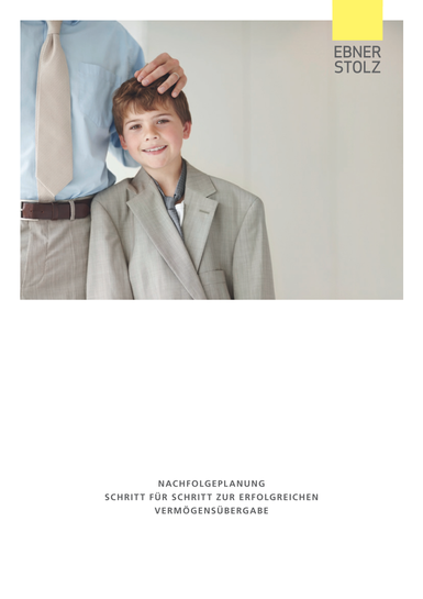 Ebner Stolz Broschüre Nachfolgeplanung