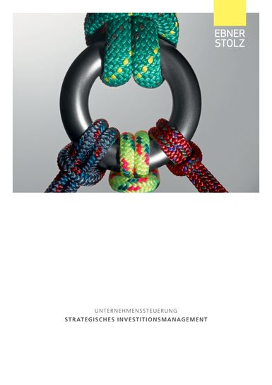 Ebner Stolz Broschüre Unternehmenssteuerung Strategisches Investitionsmanagement