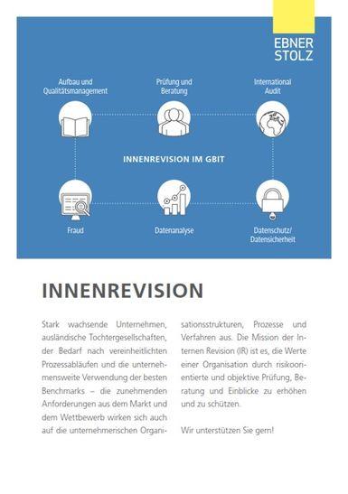 Ebner Stolz (GBIT) - Innenrevision