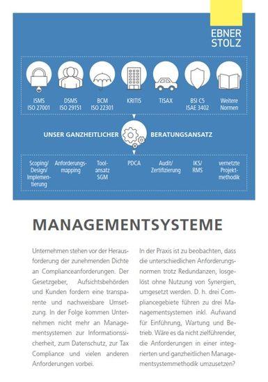 Ebner Stolz (GBIT) - Managementsysteme