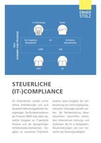 Ebner Stolz (GBIT) - Steuerliche (IT-) Compliance