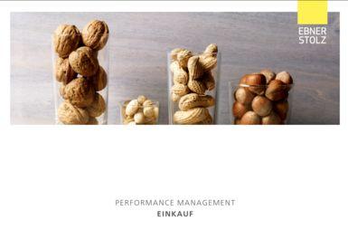 Ebner Stolz Management Consultants, Performance Management - Einkauf