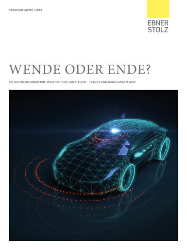 Ebner Stolz Management Consultants - Strategiepapier Automobilindustrie