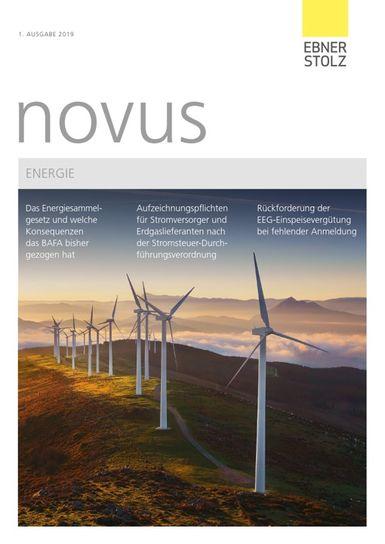 Ebner Stolz novus Energie 1. Ausgabe 2019