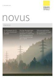 Ebner Stolz novus Energie 2. Ausgabe 2019