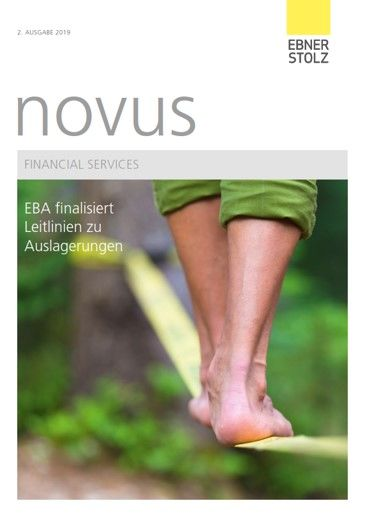 Ebner Stolz novus Financial Services 2. Ausgabe 2019