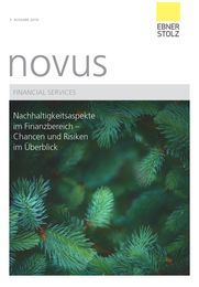 Ebner Stolz novus Financial Services 3. Ausgabe 2019