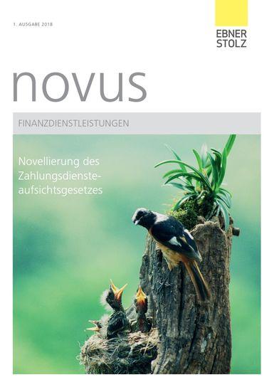 Ebner Stolz novus Finanzdienstleistungen 1. Ausgabe 2018