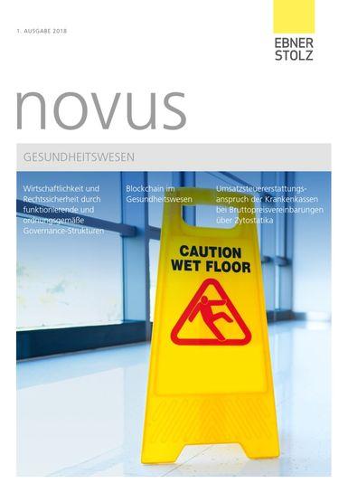 Ebner Stolz novus Gesundheitswesen 1. Ausgabe 2018