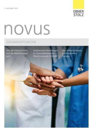 Ebner Stolz novus Gesundheitswesen 2. Ausgabe 2018