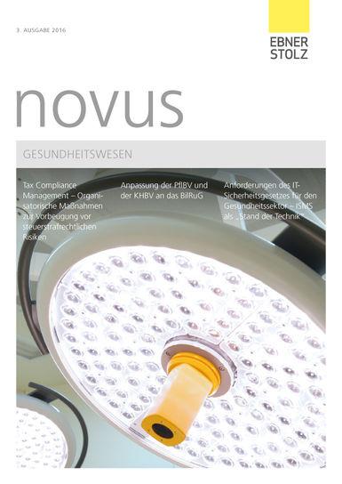 Ebner Stolz novus Gesundheitswesen III. 2016