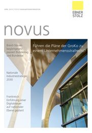 Ebner Stolz novus Mandanteninformation April 2019
