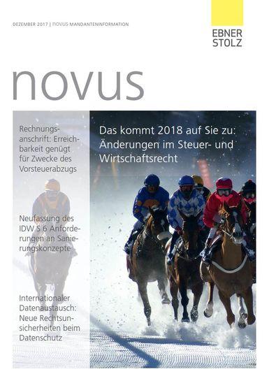 Ebner Stolz novus Mandanteninformation Dezember 2017