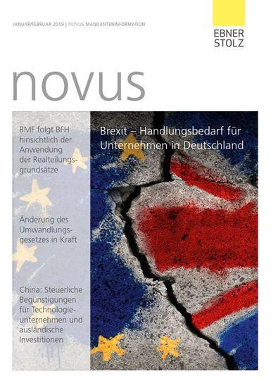 Ebner Stolz novus Mandanteninformation Januar/Februar 2019