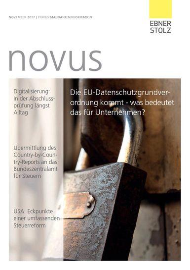 Ebner Stolz novus Mandanteninformation November 2017