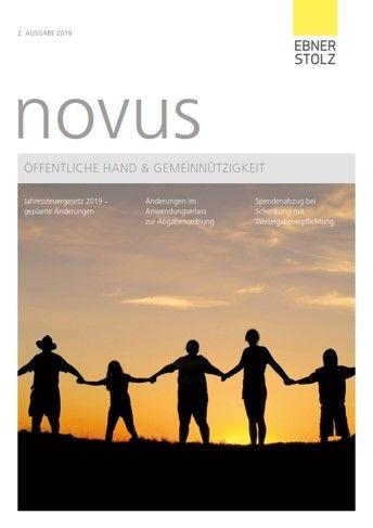 Ebner Stolz novus Öffentliche Hand  Gemeinnützigkeit 2. Ausgabe 2019