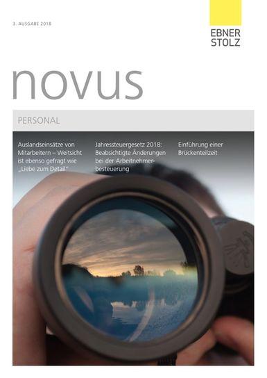Ebner Stolz novus Personal 3. Ausgabe 2018