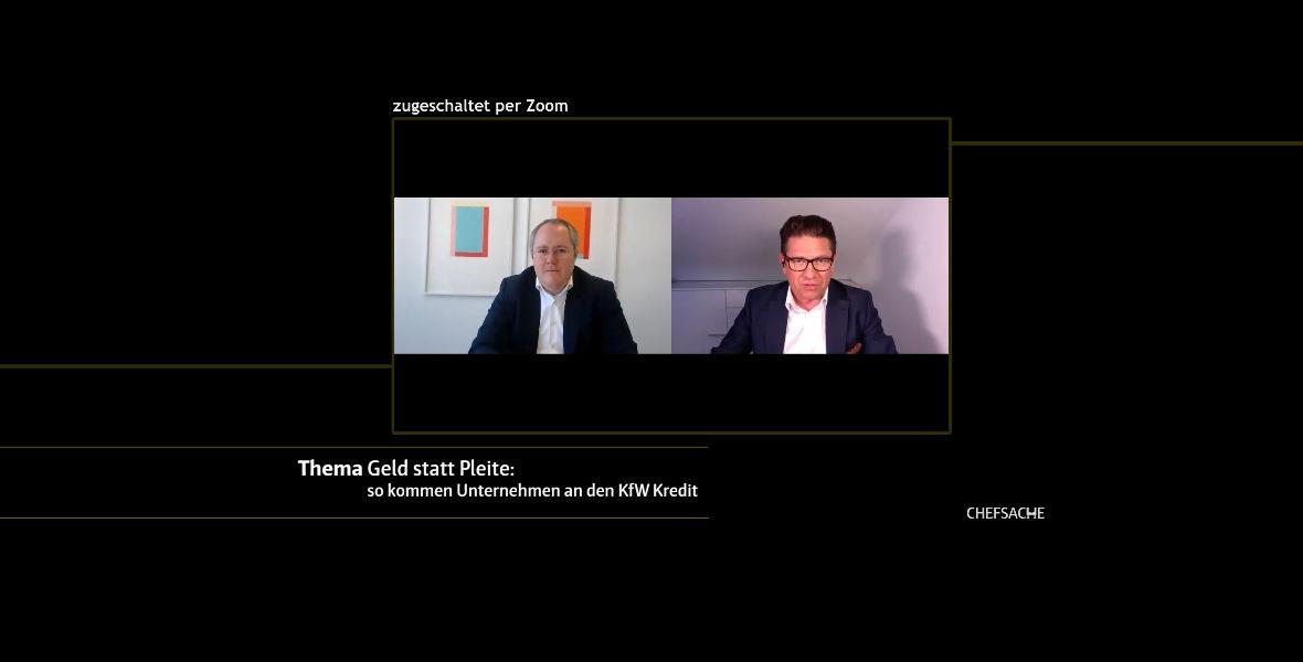 Im Gespräch bei Regio TV: So kommen Unternehmen an Liquidität