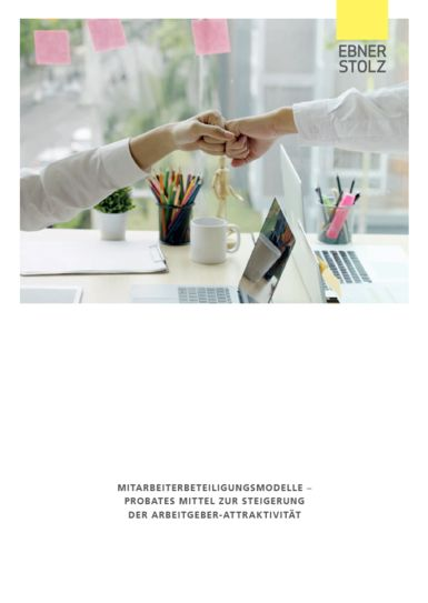 Mitarbeiterbeteiligungsmodelle