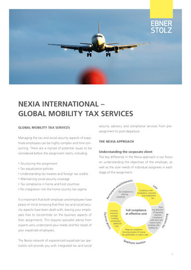 Nexia Global Mobility Tax Services