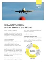 Nexia Global Mobility Tax Services