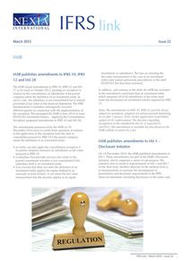 Nexia IFRS Link Newsletter, March 2015, Issue 22