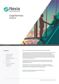 Nexia Legal Services April 2018, Issue 6