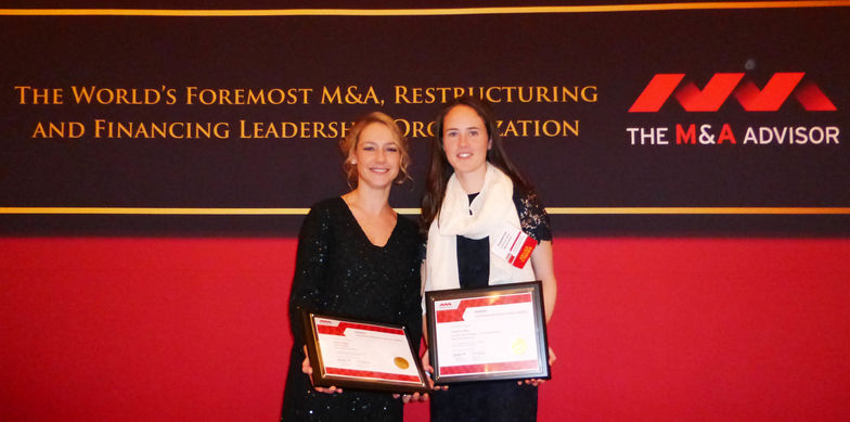 Preisverleihung 2015 MA Emerging Leader Award