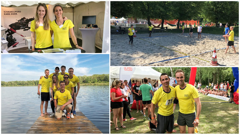 Recruiting on the beach bei der WFI Summer Challenge