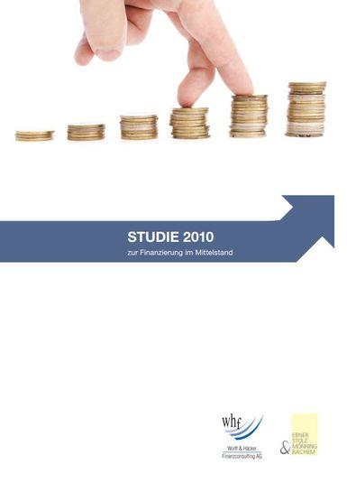 Studie 2010 zur Finanzierung im Mittelstand