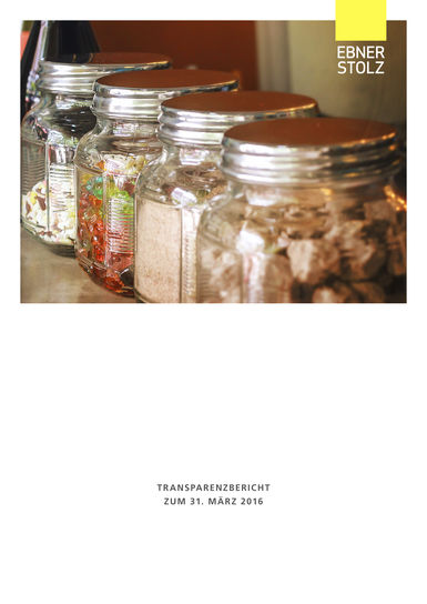 Transparenzbericht 2016