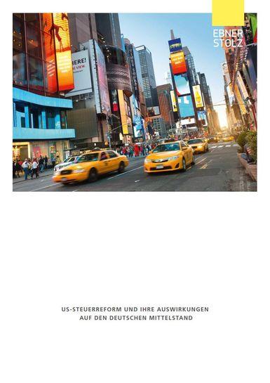 US-Steuerreform und ihre Auswerkungen auf den deutschen Mittelstand