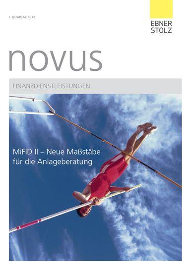 novus Finanzdienstleistungen I. Quartal 2016