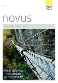 novus Finanzdienstleistungen II. Quartal 2016