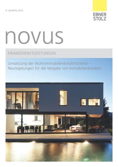novus Finanzdienstleistungen III. Quartal 2015
