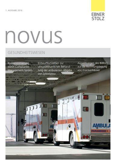 novus Gesundheitswesen I. 2016