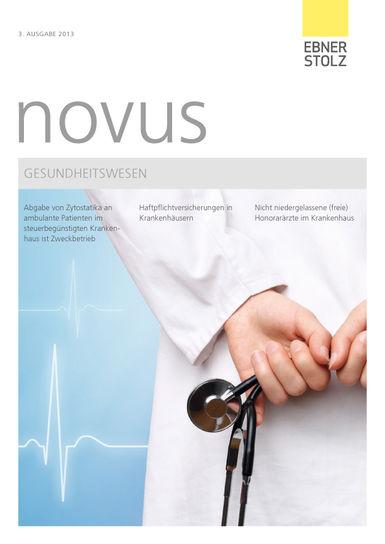 novus Gesundheitswesen III. 2013