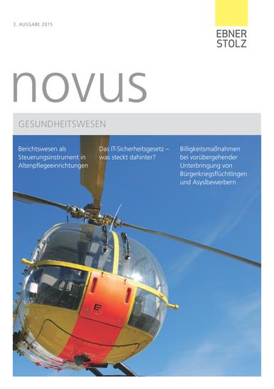 novus Gesundheitswesen III. 2015