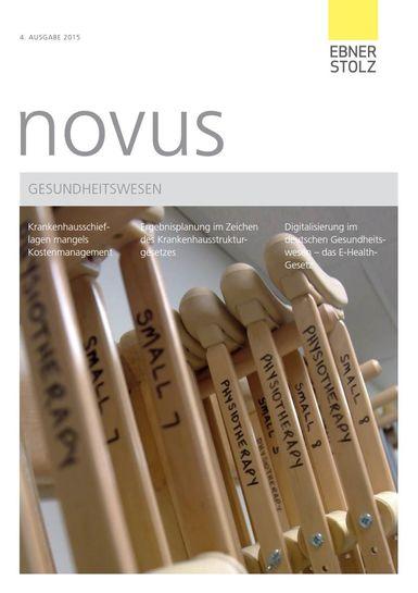 novus Gesundheitswesen IV. 2015