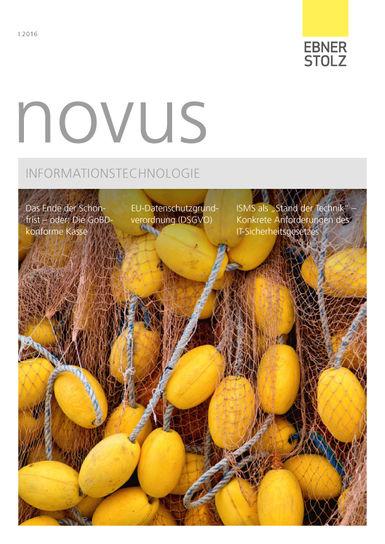 novus Informationstechnologie I. 2016