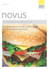 novus Internationale Rechnungslegung 1. Quartal 2015