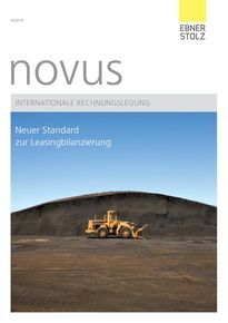 novus Internationale Rechnungslegung II/2016